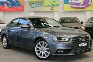2012 Audi A4 B8 8K MY13 S tronic quattro Grey 7 Speed Sports Automatic Dual Clutch Sedan Southbank Melbourne City Preview