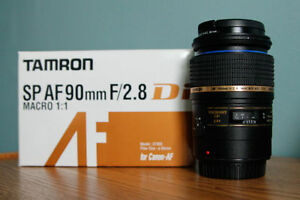 Tamron 90mm macro for canon