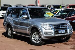2015 Mitsubishi Pajero NX MY16 GLX Silver 5 Speed Sports Automatic Wagon Cannington Canning Area Preview
