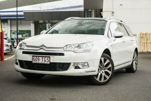 2013 Citroen C5 X7 MY13 Exclusive Tourer HDi White 6 Speed Sports Automatic Wagon