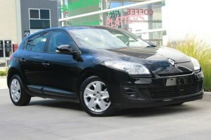 2013 Renault Megane  Black Constant Variable Hatchback Watsonia North Banyule Area Preview