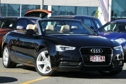2014 Audi A5 8T MY14 Sport Edition multitronic Black 8 Speed Constant Variable Cabriolet Nundah Brisbane North East Preview