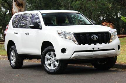 2015 Toyota Landcruiser Prado GDJ150R GX White 6 Speed Sports Automatic Wagon Hawthorn Mitcham Area Preview