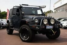 2008 Jeep Wrangler JK Unlimited Sport Grey 5 Speed Automatic Softtop Cannington Canning Area Preview