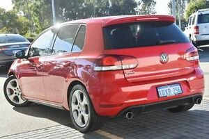 2010 Volkswagen Golf VI MY10 GTI DSG Red 6 Speed Sports Automatic Dual Clutch Hatchback Wangara Wanneroo Area Preview