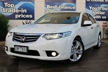 2012 Honda Accord Euro CU MY12 Luxury Navi White 5 Speed Automatic Sedan Epping Whittlesea Area Preview