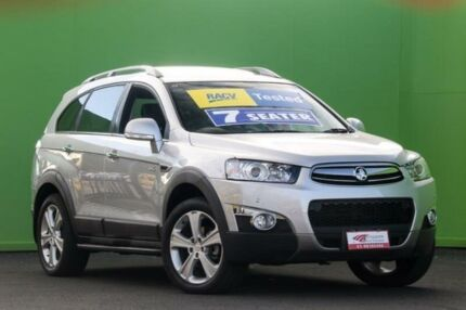 2012 Holden Captiva CG Series II 7 AWD LX Silver Pearl 6 Speed Sports Automatic Wagon Ringwood East Maroondah Area Preview