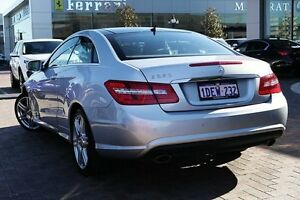 2010 Mercedes-Benz E350 C207 Avantgarde 7G-Tronic Silver 7 Speed Sports Automatic Coupe Osborne Park Stirling Area Preview