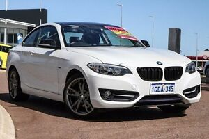 2014 BMW 220D F22 Sport Line White 8 Speed Sports Automatic Coupe East Rockingham Rockingham Area Preview
