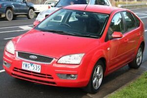 2006 Ford Focus LS LX Red 4 Speed Automatic Hatchback