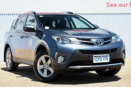2014 Toyota RAV4 ALA49R MY14 GXL AWD Blue 6 Speed Sports Automatic Wagon Morley Bayswater Area Preview