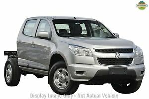 2013 Holden Colorado RG MY13 LX Crew Cab Silver 6 Speed Sports Automatic Cab Chassis Devonport Devonport Area Preview