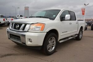 2014 Nissan Titan SL CREWCAB 4X4 Navigation (GPS),  Leather,  He