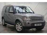 2010 Land Rover Discovery 3.0 4 TDV6 XS 5d AUTO 245 BHP Diesel grey Automatic