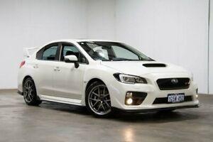 2016 Subaru WRX V1 MY16 STI AWD Premium White 6 Speed Manual Sedan Welshpool Canning Area Preview