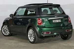 2011 Mini Hatch R56 LCI Cooper S Chilli British Racing Green 6 Speed Manual Hatchback Alexandria Inner Sydney Preview