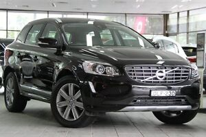 2016 Volvo XC60 DZ MY16 T5 Geartronic Luxury Black 8 Speed Sports Automatic Wagon Roseville Ku-ring-gai Area Preview