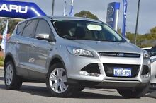 2014 Ford Kuga TF Ambiente AWD Silver 6 Speed Sports Automatic Wagon Willagee Melville Area Preview