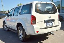 2012 Nissan Pathfinder R51 MY10 ST White 5 Speed Sports Automatic Wagon Bayswater Bayswater Area Preview