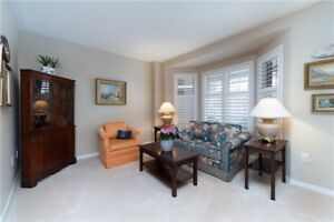 Rarely Offered 3 Bedroom Freehold Townhouse
