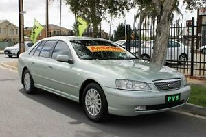 2003 Ford Fairlane BA Ghia Ice Mint Silver 4 Speed Automatic Sedan Hillcrest Port Adelaide Area Preview
