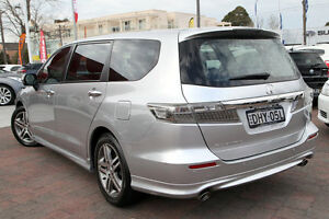2011 Honda Odyssey RB MY12 Luxury Silver 5 Speed Automatic Wagon Waitara Hornsby Area Preview