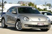 2013 Volkswagen Beetle 1L MY13 Coupe DSG Silver 7 Speed Sports Automatic Dual Clutch Liftback Kedron Brisbane North East Preview