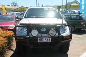 2005 Nissan Navara D40 ST-X Silver 6 Speed Manual Utility Westcourt Cairns City Preview