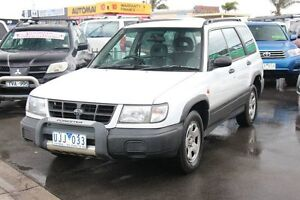 1999 Subaru Forester 79V MY99 Limited AWD White 4 Speed Automatic Wagon Heatherton Kingston Area Preview