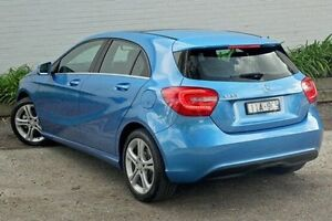 2015 Mercedes-Benz A180 176 MY15 BE Blue 7 Speed Sports Automatic Dual Clutch Hatchback Burwood Whitehorse Area Preview