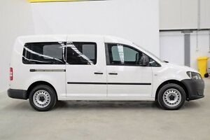 2014 Volkswagen Caddy 2KN MY15 TDI250 SWB DSG White 7 Speed Sports Automatic Dual Clutch Van Seven Hills Blacktown Area Preview