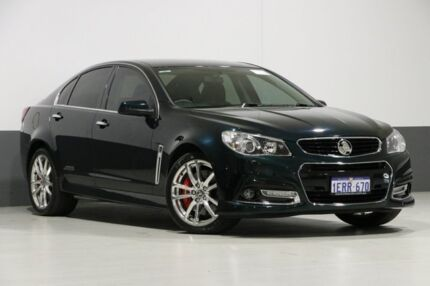 2013 Holden Commodore VF SS-V Redline Green 6 Speed Manual Sedan Bentley Canning Area Preview