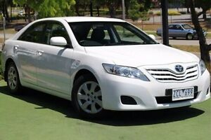 2010 Toyota Camry ACV40R MY10 Altise White 5 Speed Automatic Sedan Berwick Casey Area Preview