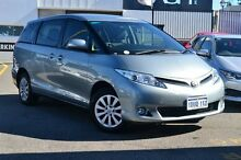 2012 Toyota Tarago ACR50R MY13 GLi Silver Lining 7 Speed Constant Variable Wagon Claremont Nedlands Area Preview