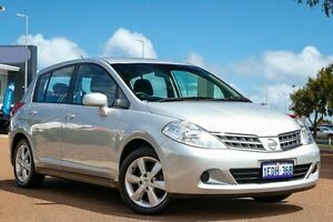 2013 Nissan Tiida C11 S4 ST Silver 4 Speed Automatic Hatchback East Rockingham Rockingham Area Preview