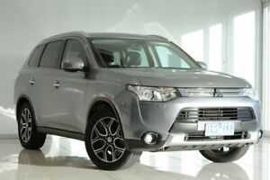 2014 Mitsubishi Outlander ZJ MY14.5 Aspire 4WD Grey 6 Speed Constant Variable Wagon Strathmore Heights Moonee Valley Preview
