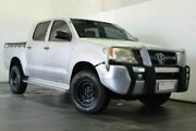 2007 Toyota Hilux GGN25R MY08 SR DUAL CAB Silver Automatic Utility Underwood Logan Area Preview