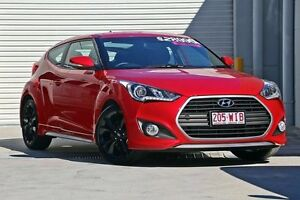 2015 Hyundai Veloster FS4 Series II Red 7 Speed Sports Automatic Dual Clutch Hatchback Hillcrest Logan Area Preview