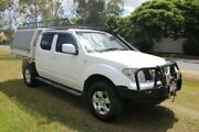 2010 Nissan Navara D40 ST White 6 Speed Manual Utility Ormeau Gold Coast North Preview