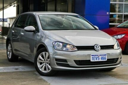 2014 Volkswagen Golf VII MY14 90TSI DSG Comfortline Tungsten Silver 7 Speed Sports Automatic Dual Cl Myaree Melville Area Preview