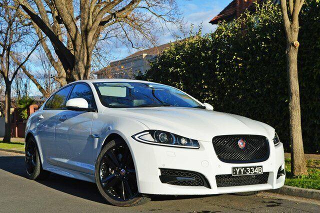 2014 Jaguar XF X250 MY14 S Luxury White 8 Speed Sports ...