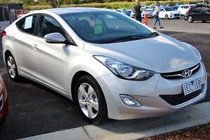 2013 Hyundai Elantra MD2 Elite Silver 6 Speed Sports Automatic Sedan Berwick Casey Area Preview