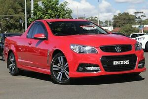 2015 Holden Ute VF MY15 SS Ute Storm Red 6 Speed Manual Utility Gymea Sutherland Area Preview