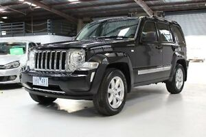 2009 Jeep Cherokee KK Limited Black Sports Automatic Wagon Knoxfield Knox Area Preview