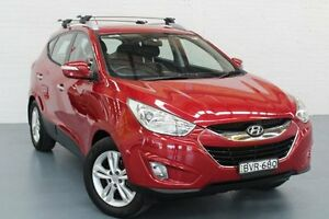2011 Hyundai ix35 LM MY11 Elite AWD Remington Red 6 Speed Sports Automatic Wagon Glendale Lake Macquarie Area Preview