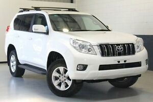 2011 Toyota Landcruiser Prado KDJ150R GXL White 5 Speed Sports Automatic Wagon Blair Athol Port Adelaide Area Preview