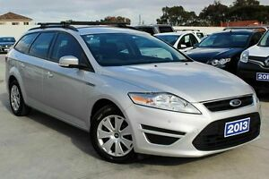 2013 Ford Mondeo MC LX PwrShift TDCi Silver 6 Speed Sports Automatic Dual Clutch Wagon Craigieburn Hume Area Preview