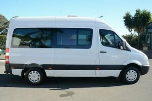 2009 Mercedes-Benz Sprinter NCV3 MY09 Transfer Low Roof White 5 Speed Automatic Bus Acacia Ridge Brisbane South West Preview