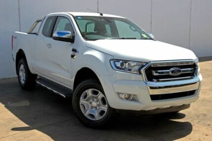 2017 Ford Ranger PX Mkii MY17 Update XLT 3.2 (4x4) Cool White 6 Speed Automatic Super Cab Utility