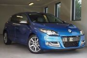 2014 Renault Megane III B95 Phase 2 GT-Line EDC Premium Blue 6 Speed Sports Automatic Dual Clutch Willagee Melville Area Preview